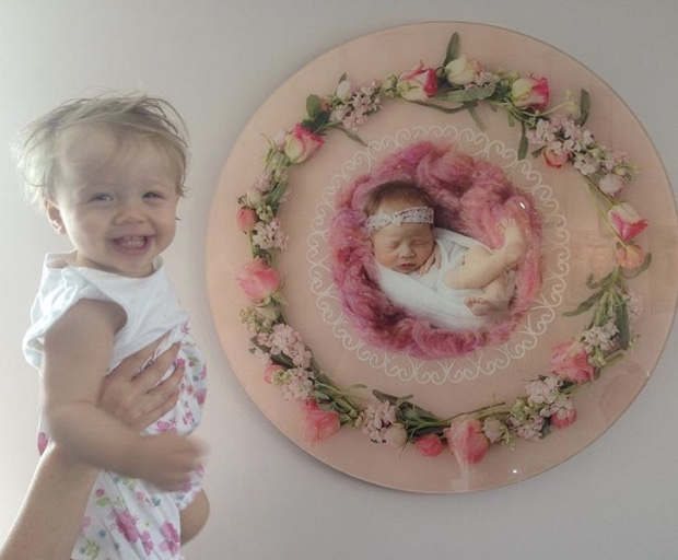 Creative newborn Whitby photography